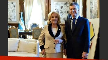 Mirtha Legrand habló de su almuerzo con Mauricio Macri en la Casa Rosada (Foto: Captura)