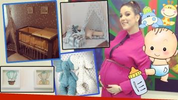 Juana Repetto mostró la tierna decoración del cuarto de su bebé (Foto: Instagram)