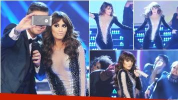 Lali Espósito brilló en el debut de ShowMatch (Fotos: Prensa El Trece)