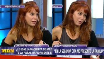 Cayetina y una insólita confesión hot (Foto: web)