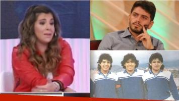 Gianinna Maradona habló de una polémica versión sobre Diego Jr. Foto: Web/ Captura