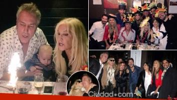 Las fotos del divertido cumple de Marley junto a Susana, Flor Peña, Vernaci y muchos famosos.