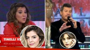 La respuesta de Gianinna Maradona al saludo de Marcelo Tinelli: