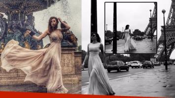 Juliana Giambroni, una diosa suelta en Paris (Foto: Instagram)