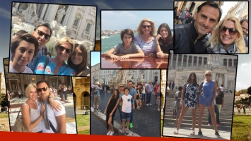 Las vacaciones del clan Latorre en Europa (Foto: Instagram)