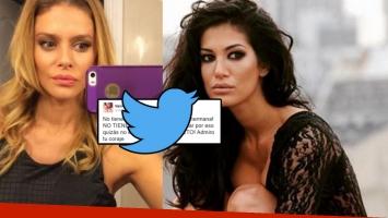 Vanina Escudero apoyó a Silvina en Twitter (Foto: web y Twitter)