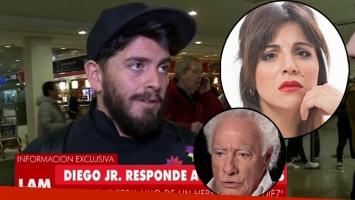Diego Jr. le respondió a Gianinna Maradona (Foto: web)
