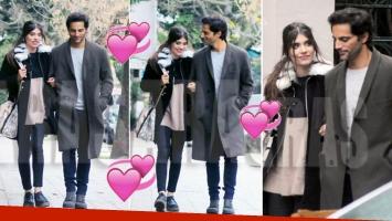 Joaquín Furriel y Eva de Dominici, paseando del brazo y súper enamorados (Foto: revista Caras)