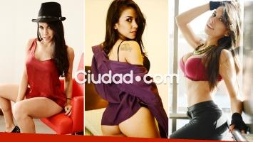 Cynthia Aller, hot para Ciudad.com. Fotos: Musepic.