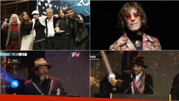 Todos los ganadores de los Premios Gardel 2016. Foto: Captura/ Web/ Twitter