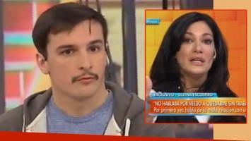 Martín Amestoy negó haber sido violento con Silvina Escudero (Foto: web)