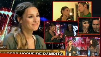 Pampita y Moria, enojadas en ShowMatch (Foto: web)