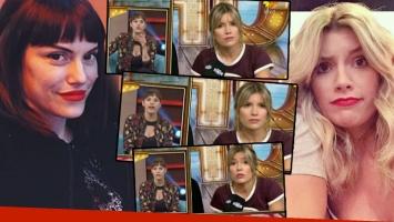 Connie Ansaldi sorprendió a Laurita Fernández con una incómoda pregunta (Foto: web)
