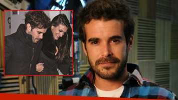 A Nicolás Cabré le preguntaron por las fotos junto a su nueva novia, Josefina Silveyra (Foto: web)
