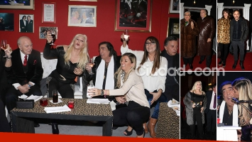 Cacho Castaña festejó su cumple 74 rodeado de amigos. Fotos: Movilpress-Ciudad.com.