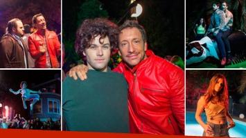 El backstage de La última fiesta, la película de Nicolás Vázquez y Benjamín Amadeo