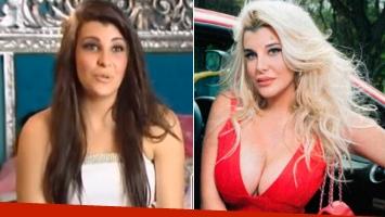 Charlotte Caniggia, antes y después de las cirugías.