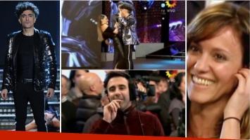 Favio Posca divirtió en su debut en Bailando 2016. Foto: Ideas del sur/ Captura