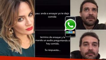 Pedro Alfonso y un reclamo cotidiano a Paula Chaves (Foto: Twitter e Instagram)