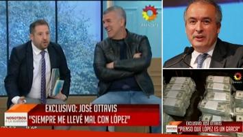 La picante chicanita en vivo de Dady Brieva a José Ottavis.