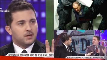 Brancatelli habló en Intratables sobre la detención de José López. Foto: Captura/ TN