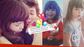 El tierno mensaje de Griselda Siciliani a su hija por su cumple (Foto: Instagram)
