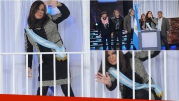 Cristina Fernández tuvo su ingreso a la casa de Gran Cuñado. Foto: Ideas del sur