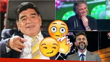 Diego Maradona llamó a Mejor de noche. Foto: Web