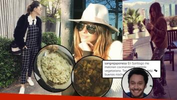 China Suárez, días de amor con Benjamín Vicuña y mimos gastronómicos en Chile (Foto: Instagram)