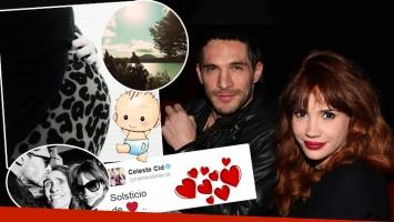 Celeste Cid y Michel Noher, enamorados y en la dulce espera (Foto: Instagram)