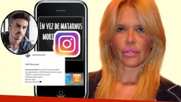 El fuerte mensaje de Nazarena Vélez ¿para Federico Bal? (Foto: Instagram y web)