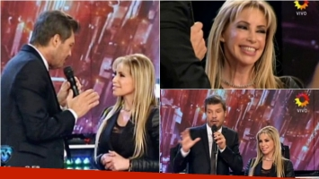 Fernanda Herrera, la abogada hot visitó ShowMatch. Foto: Captura