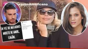 Nazarena Vélez explicó por qué eliminó el mensaje indirecto para Federico Bal de Instagram (Foto: web)