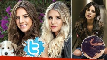 Candelaria Tinelli lanzó un tweet que, sin querer, incomodó a su hermana Micaela Tinelli. (Foto: Web)