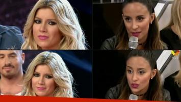 Lourdes Sánchez y un tenso cruce con Laurita Fernández en el Bailando (Foto: web)