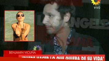 Benjamín Vicuña habló del sorpresivo viaje de Pampita a Miami (Foto: web)