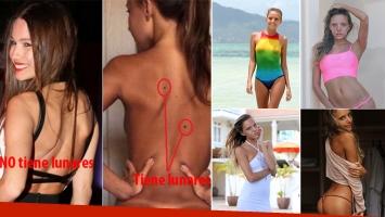 Katya Clover, la modelo hot con la que confundieron a Pampita. Fotos: Web.