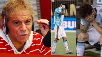 La polémica opinión de Beto Casella sobre la renuncia de Messi a la Selección.