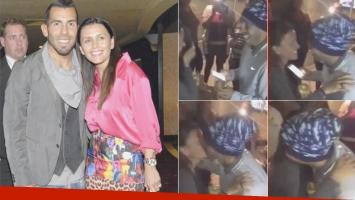 La propuesta de casamiento de Tevez a Vanesa Mansilla.