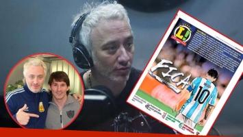 La venganza de Andy Kusnetzoff contra el diario deportivo Lance por la broma a Messi