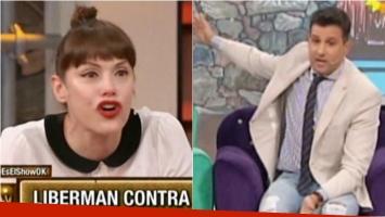 La fuerte pelea de Connie Ansaldi con José María Listorti. Foto: Captura