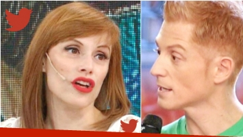 El enojo de Martín Liberman con Connie Ansaldi en ShowMatch (Fotos: Web y Captura)