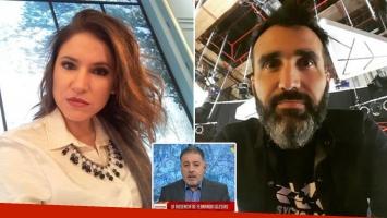 Fernanda Iglesias denunció a su marido por violencia de género.