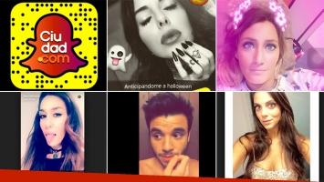 La lista con los 30 famosos argentinos que son furor en Snapchat y tenés que seguir.