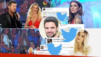 Tinelli contó una anécdota retro de Mica y Cande con Luciano Castro (Foto: web y Twitter)