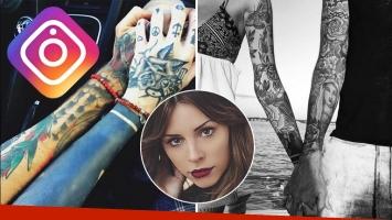Nuevo tattoo de Candelaria Tinelli, y otra vez con polémica.