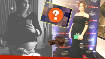 El divertido episodio de Paula Chaves tras comer un chocolate (Fotos: Instagram y Ciudad.com)