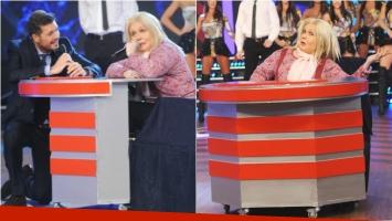 La divertida entrada de Fátima Florez como Lilita Carrió a Gran Cuñado 2016. Foto: Ideas de sur