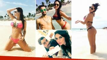 Sabrina Ravelli, diosa soltera en Punta Cana. (Foto: Instagram)