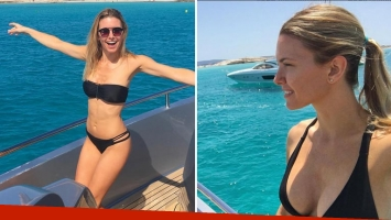 ¡Qué embajadora! Las fotos de Sofía Zámolo, diosa en bikini en la costa española